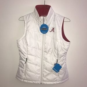 "NWT Colombia ""Alabama"" Vest"